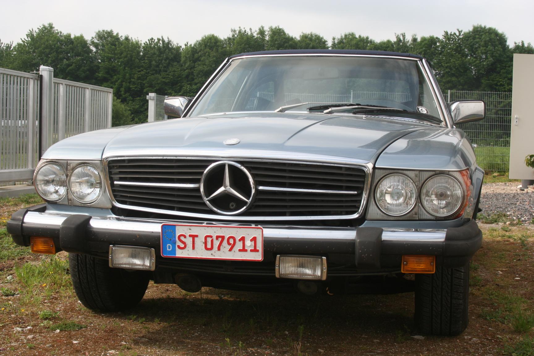 Mercedes-Benz SL 107 Hinterachsdifferential Befestigung für unten