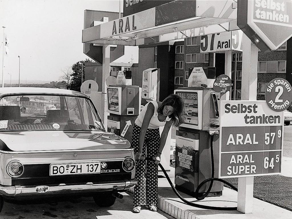 Aral Tankstelle 70er Jahre